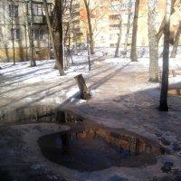 Март  вгороде :: Елена Семигина
