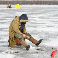 Рыбак замний. Автопортрет :: Сергей Огарёв