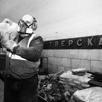 Ремонт ст. метро Тверская :: alex_belkin Алексей Белкин