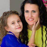 дочки-матери.... :: Елена Лабанова