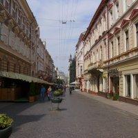 Улица   Ольги  Кобылянской  в  Черновцах :: Андрей  Васильевич Коляскин