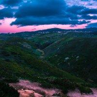 Розовый закат :: Елена Гажиу