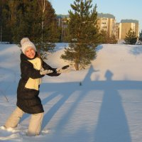 танцы на снегу... :: Алена