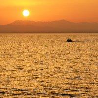 Красноморский закат :: Дмитрий Челноков