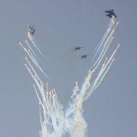 Авиационная группа высшего пилотажа Военно-воздушных сил России «Русские витязи» :: Savayr