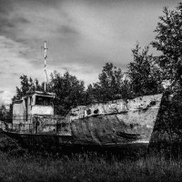 Old  fishing  ship :: Илья В.
