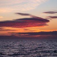 Красный закат :: Анна Салтыкова