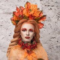 Девушка - Осень :: Игорь Виеру