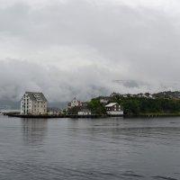 Олесунн в облаках :: Ольга