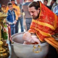 крещение Максима :: Евгения Комарова