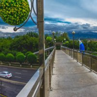 av. Al Farabi, Almaty, Kazakhstan :: Yevgeniy Sarinov