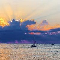 Закат на море Чёрном. :: Laborant Григоров