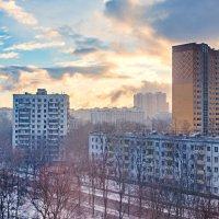 Пылающий рассвет :: Максим Дорофеев