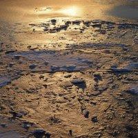Марсианский пейзаж последнего льда. :: Юрий Скрипченков