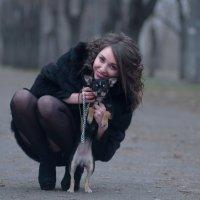 дама с собачкой :: Елена Ленком