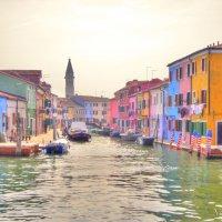 остров Бурано, Венеция, Италия :: Николай Милоградский