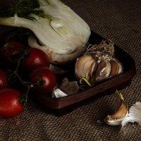 не пойдёт чеснок для салата... :: liudmila drake