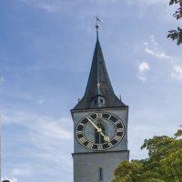 Швейцария, Цюрих. Собор святого Петра. :: Наталья Иванова