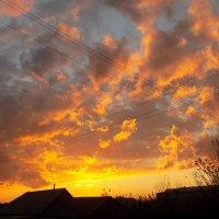 Небо точно полотно :: Максим Мальцев