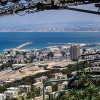 Вид со станции маятниковой дороги на Средиземное море :: Witalij Loewin