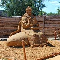 Выставка песчаных скульптур. :: Николай Крюков