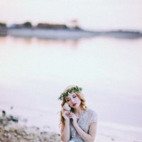 Девушка с ракушкой :: Жанна Данильчук