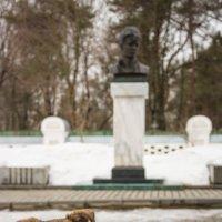 Собака и Есенин :: Kasatkin Vladislav