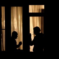 Ночной разговор... :: Дмитрий Воронин