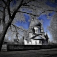 Церковь Рождества Христова :: Аркадьевна Кокарева