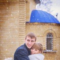 зимнее свадебное фото :: Наталья