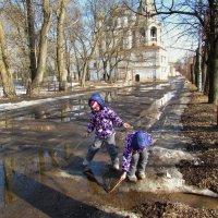 Увлекательное занятие весной :: irina