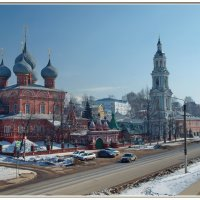 Кострома. Церковь Воскресения на Дебре :: Олег