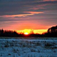 И закат догорал... :: Михаил Столяров