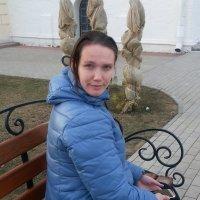 девушка в голубом :: Евгения Бакулина