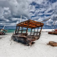 Во время отлива...остров Занзибар! :: Александр Вивчарик