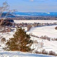 Начало марта в долине Иркута :: Анатолий Иргл