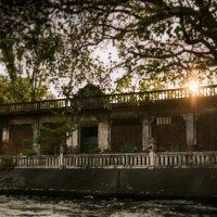 Закат на реке в Банкоке :: Наталья Краснюк