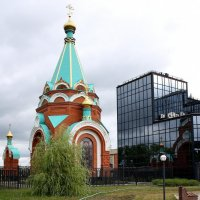 Храм-часовня Христа Спасителя в  Пензе. :: Валерия  Полещикова