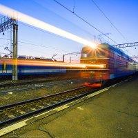 Отправление пассажирского поезда :: Алексей Белик
