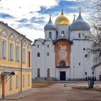 Софийский собор Новгородского кремля. :: Евгений Никифоров