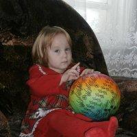 Девочка с мячом :: Елена Фалилеева-Диомидова