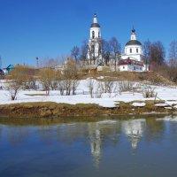 Церковь Николая Чудотворца в Филипповском. :: Ирина Нафаня