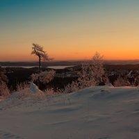 Зимний восход :: vladimir