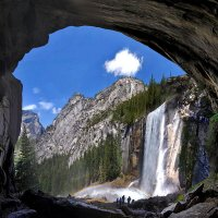водопад Vernal Fall :: viton