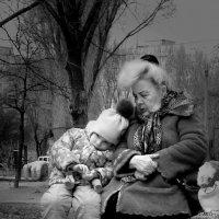 С няней :: Ирина Мищенко