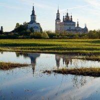 Лальск, вид с дороги из-за реки :: Наталья Зимирева