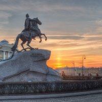 Медный Всадник, Санкт-Петербург :: Александр Кислицын