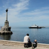 Черное море, белый пароход... :: ВИКТОРИЯ Т