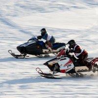 Гонки на снегоходах :: Фёдор Воронов