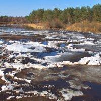 Река во власти ледохода... :: Лесо-Вед (Баранов)